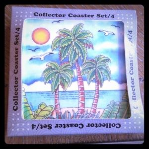 Other - Palm tree Coasters